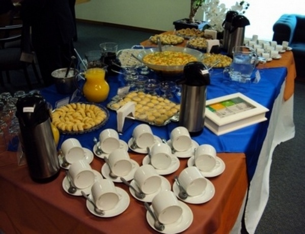 Buffet de Coffee Break para Empresa Vila Bourbon - Coffee Break Natalino