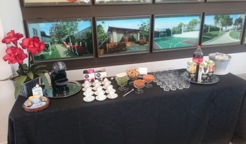 Coffee Break de Carnaval Jardim Cidapel - Buffet de Coffee Break para Eventos