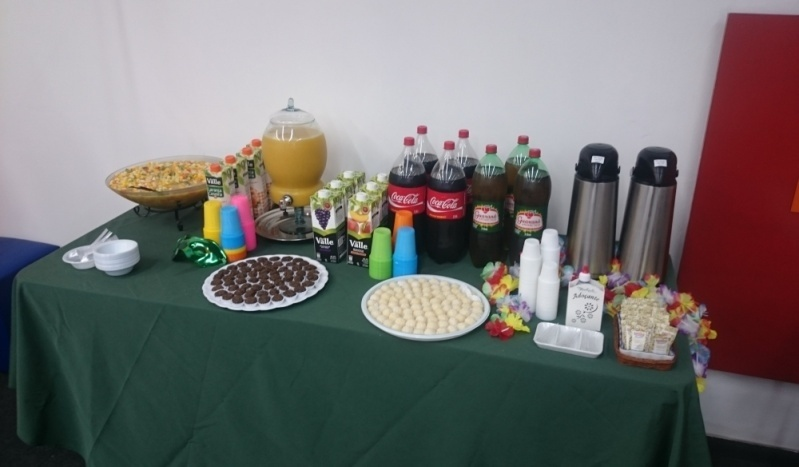 Contratar Buffet de Coffee Break para Empresas Bairro Rural do Pari - Coffee Break Dia dos Pais