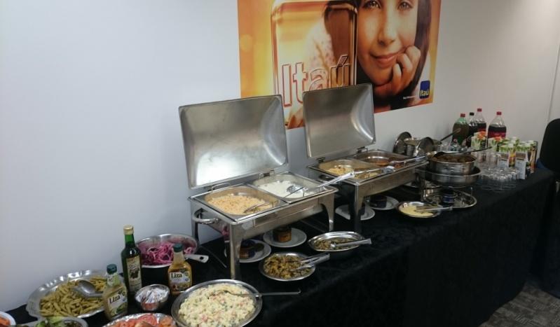 Orçamento de Buffet de Almoço para Empresa Parque Gabriel - Buffet para Coquetel Empresarial