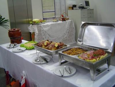 Serviço de Buffet para Festa Natalina em Empresa Bairro da Estação - Buffet para Almoço de Empresa