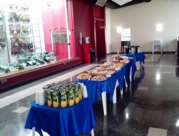 Serviço de Coffee Break para Eventos Outubro Rosa Parque Horizonte - Buffet de Coffee Break para Eventos