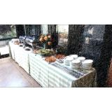 almoço executivo para reuniões preço Jardim Santo Andre