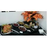 almoço executivo para reuniões valor Roseira
