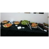 almoço para eventos empresariais preço Chácara Itamar