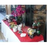 almoço para eventos executivos Jardim Santa Adélia