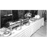 almoço para treinamento empresarial Vila Santa Isabel