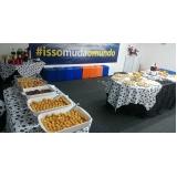 buffet almoço corporativo preço Jardim das Orquídeas