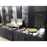 buffet de almoço em empresa Real Parque