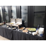 buffet de almoço em empresa Jardim Mirim