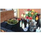buffet de almoço para colaboradores preço Jardim Jurema