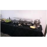 buffet de almoço para colaboradores Almeirinda Chaves