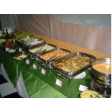 buffet de almoço para empresa Jardim Mirim