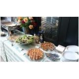 buffet de almoço para reunião preço Ponte São João