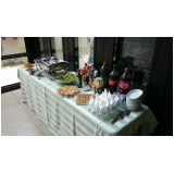 buffet de almoço para reunião Vila Progresso
