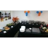 buffet de almoço para treinamento corporativo Vale dos Cebrantes
