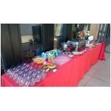 buffet de almoço para treinamento empresarial preço Jardim Lisa