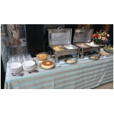 buffet de almoço para treinamento empresarial Chácara Segre