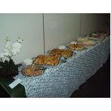 buffet de brunch para casamento em sp Vila Marlene