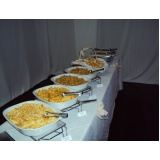 buffet de brunch para evento Reserva da Floresta