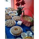 buffet de café da manhã em empresa Cidade Nova