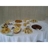 buffet de café da manhã para evento em sp Vila Nambi