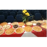 buffet de coffee break corporativo em sp Cidade Luiza