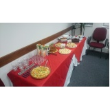 buffet de coffee break corporativo Vila Janete