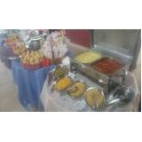 buffet de coffee break junina serviço de Joaquim Egídio