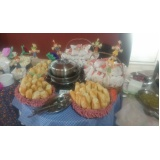 buffet de coffee break junina Jardim Molinari