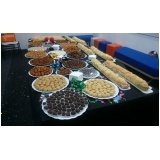 buffet de coffee break para empresas Notre Dame