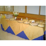 buffet de coffee break para evento barato Jardim Santo Andre