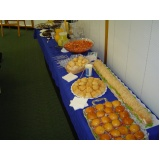 buffet de coffee break para evento Jardim Fepasa