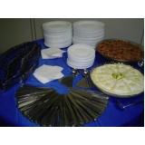 buffet de coffee break para eventos preço Parque Morangaba
