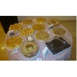 buffet de coffee break para palestra barato Parque Gabriel