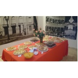 buffet de coffee break para palestra em sp Vila Marlene