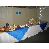 buffet de coffee break Parque Maria Helena
