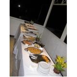 buffet de coquetel para casamento em sp Jardim Adelaide