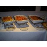 buffet de coquetel para casamento Jardim Rossin