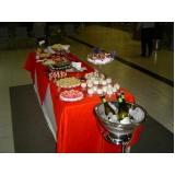buffet de coquetel para evento em sp Jardim Molinari
