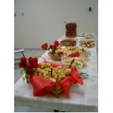 buffet de coquetel para evento Residencial Terra Nova