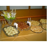 buffet especializado em coffee break Notre Dame