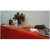 buffet evento corporativo preço Vila São Pedro