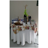buffet evento corporativo Cecap