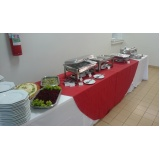 buffet para almoço corporativo barato Jardim Cristina