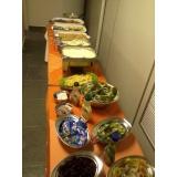buffet para almoço corporativo Santo Antônio