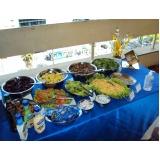 buffet para almoço de confraternização barato Jardim do Sol