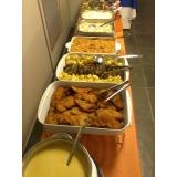 buffet para almoço de confraternização Jardim das Figueiras