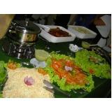 buffet para almoço de empresa preço Jardim Marajoara