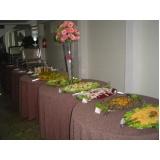 buffet para almoço de empresa Vila Marlene